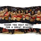 Goodbye to the Heat season with nice memories of their dancers
