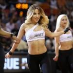 Sara' la sexy Jeanelle a rappresentare il calore di Miami all'All Star Game canadese