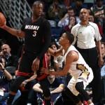 Vincono gli Heat in trasferta a New Orleans gia' pensando alla prossima gara con gli Spurs