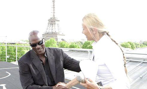 L'incontro a Parigi con sua maesta' MJ