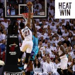 "Miami ""asfalta"" Charlotte in Game1 dei Playoffs"