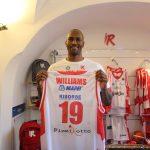 """Presentato oggi Jawad Williams """"sono carico, motivato e pronto a scendere in campo"""""""