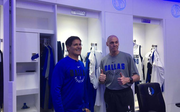 Dallas, svelato il nuovo spogliatoio | LE FOTO